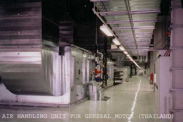 Oven, Spray booth and Air Handling Unit p1